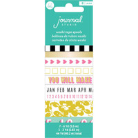 American Crafts - Heidi Swapp - Life is Good - Washi Tape - Set of 8