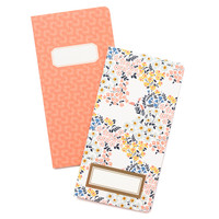 American Crafts -  Crate Paper - Journal Studio - Journal Inserts - Floral (Standard)
