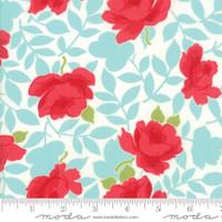Moda Fabric - Little Snippets - Bonnie & Camille - Aqua #55180 12
