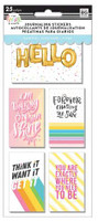 Me and My Big Ideas - The Happy Planner - Flip Stickers - Cute Quotes - Classic