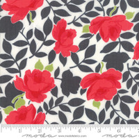 Moda Fabric - Little Snippets - Bonnie & Camille - Charcoal  #55180 16