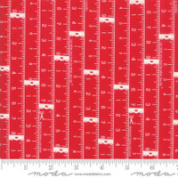 Moda Fabric - Little Snippets - Bonnie & Camille - Red  #55181 11