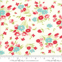 Moda Fabric - Little Snippets - Bonnie & Camille - Cream  #55182 15
