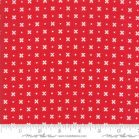 Moda Fabric - Little Snippets - Bonnie & Camille - Red  #55183 11