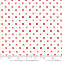 Moda Fabric - Little Snippets - Bonnie & Camille - Cream #55183 15