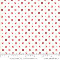 Moda Fabric - Little Snippets - Bonnie & Camille - Cream #55183 15