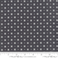 Moda Fabric - Little Snippets - Bonnie & Camille -Charcoal  #55183 16