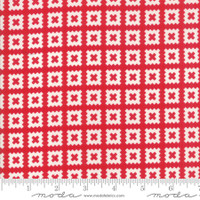 Moda Fabric - Little Snippets - Bonnie & Camille -Red  #55184  11