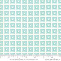 Moda Fabric - Little Snippets - Bonnie & Camille -Aqua  #55184  12