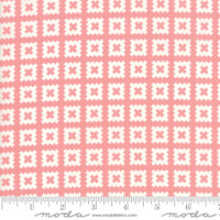 Moda Fabric - Little Snippets - Bonnie & Camille -Coral  #55184  13