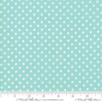 Moda Fabric - Little Snippets - Bonnie & Camille -Aqua  #55185  12