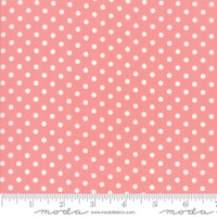 Moda Fabric - Little Snippets - Bonnie & Camille -Coral  #55185  13