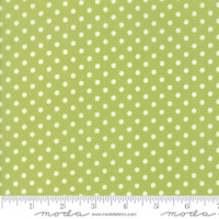 Moda Fabric - Little Snippets - Bonnie & Camille -Green  #55185  14