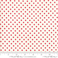 Moda Fabric - Little Snippets - Bonnie & Camille -Red Cream  #55185  21