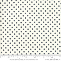 Moda Fabric - Little Snippets - Bonnie & Camille -Charcoal Cream  #55185  26