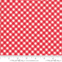 Moda Fabric - Little Snippets - Bonnie & Camille -Red  #55186  11