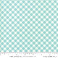 Moda Fabric - Little Snippets - Bonnie & Camille -Aqua #55186  12