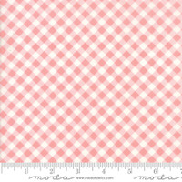 Moda Fabric - Little Snippets - Bonnie & Camille -Coral #55186  13