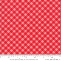 Moda Fabric - Little Snippets - Bonnie & Camille -Red Coral #55186  23