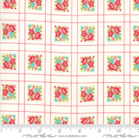 Moda Fabric - Little Snippets - Bonnie & Camille -Cream #55187  15