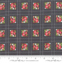 Moda Fabric - Little Snippets - Bonnie & Camille -Charcoal #55187  16