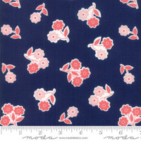 Moda Fabric - Garden Variety - Lella Boutique -Navy  #5071 12