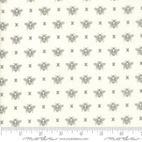 Moda Fabric - Garden Variety - Lella Boutique -Cloud  #5073 11