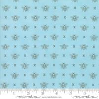 Moda Fabric - Garden Variety - Lella Boutique -Blue Sky  #5073 13
