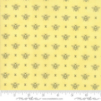 Moda Fabric - Garden Variety - Lella Boutique -Sunshine  #5073 17