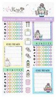 Craft Smith - Shine Sticker Studio - Sticker Book - Fitness