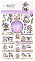 Craft Smith - Shine Sticker Studio - Sticker Book - Everyday Luna