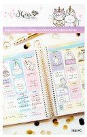 Craft Smith - Shine Sticker Studio - Sticker Book - Weekly Sticker Kit - Unicorn