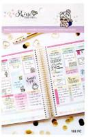 Craft Smith - Shine Sticker Studio - Sticker Book - Weekly Sticker Kit - Luna