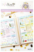 Craft Smith - Shine Sticker Studio - Sticker Book - Weekly Sticker Kit - Mermaid
