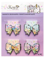 Craft Smith - Shine Sticker Studio - Magnetic Bookmarks - Bows
