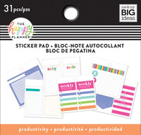 Me and My Big Ideas - The Happy Planner - Tiny Sticker Pad - Productivity