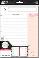 Me and My Big Ideas - The Happy Planner - Classic Note Paper - Recipe