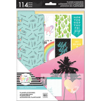 Me and My Big Ideas - The Happy Planner - Classic Accessory Pack - Happy - Student