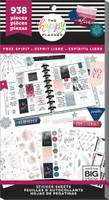 Me and My Big Ideas - The Happy Planner - Value Pack Stickers - Free Spirit (Boho) (Exclusive)