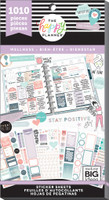 Me and My Big Ideas - The Happy Planner - Value Pack Stickers - Wellness