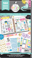 Me and My Big Ideas - The Happy Planner - Value Pack Stickers - Pastel Tropics