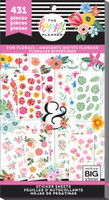 Me and My Big Ideas - The Happy Planner - Value Pack Stickers - Fun Florals