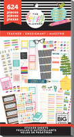 Me and My Big Ideas - The Happy Planner - Value Pack Stickers - BIG - Teacher Functional (#624)