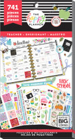 Me and My Big Ideas - The Happy Planner - Value Pack Stickers - Teacher - One Happy Year
