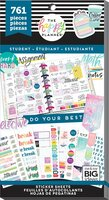 Me and My Big Ideas - The Happy Planner - Value Pack Stickers - Whatever - Student
