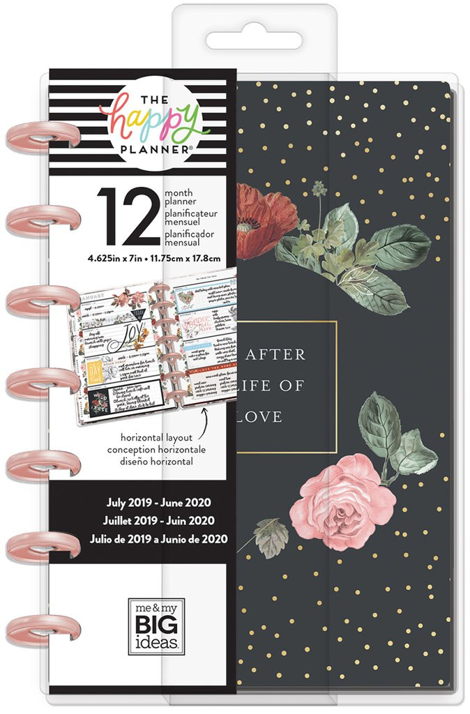 Me and My Big Ideas - Mini Happy Planner - Vintage Botanical (Dated,  Horizontal)