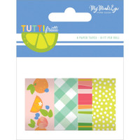 My Minds Eye - Tutti Frutti - Washi Tapes - Set of 4