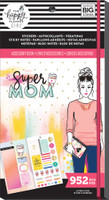 Me and My Big Ideas - Happy Planner - Accessory Book - Super Mom