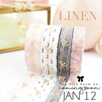 The Pink Room Co -  Linen Washi Collection - Exclusive