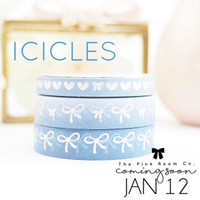 The Pink Room Co -  Icicles Washi Collection - Exclusive